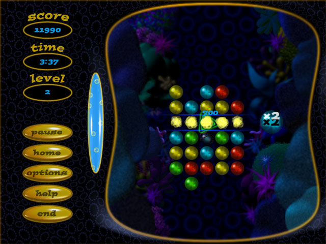 Screenshot of Bubble Spalsh