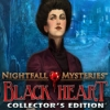 Nightfall Mysteries: Black Heart Collector's Edition - Downloadable Classic Puzzle Game