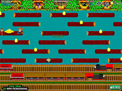 Varmintz Deluxe Frogger Game For Pc And Mac