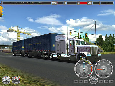 18 Wheels Of Steel  Haulin    Truck Game