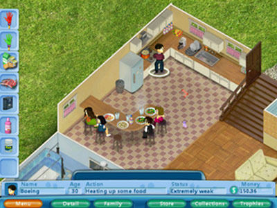 Virtual Families - Life Simulation Game for PC and Mac